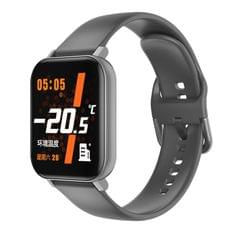 F25 1.4 inch TFT Color Screen Smart Watch IP67 Waterproof,Support Temperature Monitoring/Heart Rate Monitoring/Blood Pressure Monitoring/Sleep Monitoring (Gray)