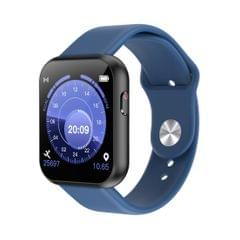 X6plus 1.54 inch IPS Color Screen Smart Watch,Support Heart Rate Monitoring/Blood Pressure Monitoring/Blood Oxygen Monitoring/Sleep Monitoring (Blue)
