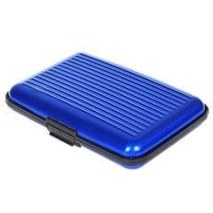 Aluminum Business Card Box Card Box Credit Card Package Anti-theft Anti-radio AL (Blue)