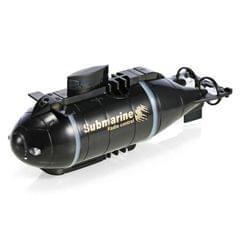 Rechargeable Mini 6-Channel Remote Submarine (Black)
