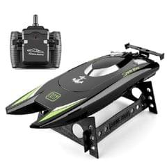 Children Water Toy High-speed Remote Control Boat 7.4 V Large Capacity Battery Speed Boat Racing Boat (Black)