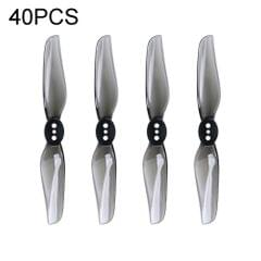 40PCS iFlight Nazgul T3020 75mm 2-Blade Toothpick Propeller for RC Drone FPV Racing Freestyle 3 Inch Toothpick Duct Drone (Grey)