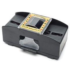 HC01345 2 PCS Automatic Electric Plastic Shuffling Machine Chess Game Tool
