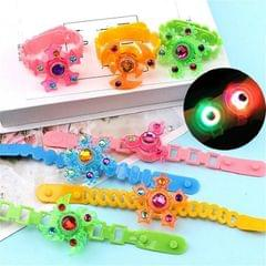 3 PCS Children Luminous Bracelet Flash Creative Rotating Gyro Watch Band