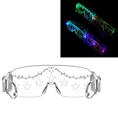 Glowing Glasses Led Glasses Bar And Nightclub Glowing Mask , Boxed