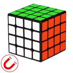 Moyu QIYI M Series Magnetic Speed Magic Cube Four Layers Cube Puzzle Toys (Black)