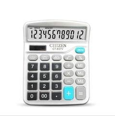 GTTTZEN Calculator CT837V 12-bit Solar Office Finance Dedicated Calculator