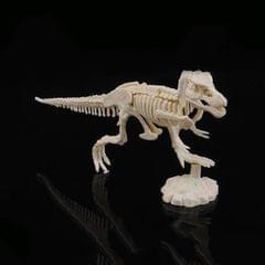 Creative DIY Excavation Archeological Dinosaur Toy Fossil Puzzle Children Handmade Dinosaur Skeleton Model (Tyrannosaurus)