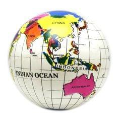 Children Inflatable English Version Earth Shape World Map Globe Ball Summer Water Toys Beach Ball