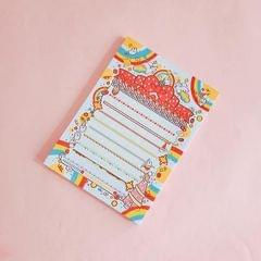 2 PCS Cute Cartoon Bread Bunny Note Book Hand Memo Material Notes Can Tear Memo Portable Notepad, Pages:80? (Birthday Rabbit)