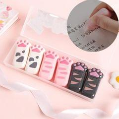 6 PCS Cute Cat Claw Correction Tape Set Creative Mini Correction Tape Student Stationery (Cat Claw Correction Tape-6 Boxes B694K)