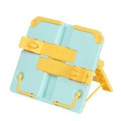 2 PCS Portable Multifunctional Book Holder For Children Reading Frame (Blue&Yellow)