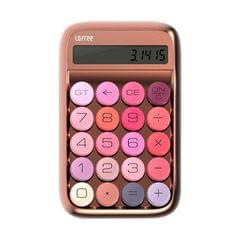 LOFREE Jelly Bean Calculator Financial Office Small Portable Mechanical Key Green Axis Retro Calculator