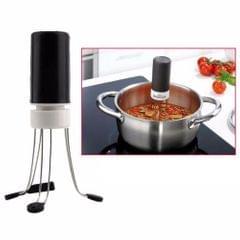 2 PCS Gear Automatic Blender Mixer 3 Speed Kitchen Food Auto Stirrer Blender (White)