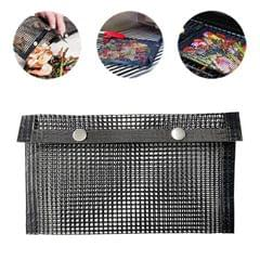 Barbecue Heat Resistant Non-stick Grilling Mesh BBQ Baking Bag, Size: 24 x 14cm