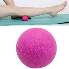 10 PCS Fascia Ball Deep Muscle Relaxation Plantar Acupoint Massage Fitness Mini Yoga Ball Massage Ball, Specification:Single Ball (Pink)