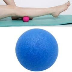 10 PCS Fascia Ball Deep Muscle Relaxation Plantar Acupoint Massage Fitness Mini Yoga Ball Massage Ball, Specification:Single Ball (Blue)
