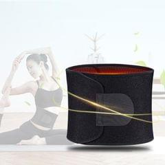 WT-B01 Sports Waistband Basketball Weightlifting Fitness Waistband Warm Belly Tummy Squat Belt, Size:120 x 20cm (Black)