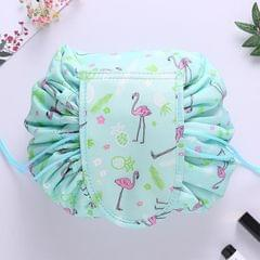 Fashion Waterproof Large Capacity Quick Drawstring Makeup Jewelry Storage Bag Women Travel Cosmetic Bag Toiletry Tool Kit (Style1)