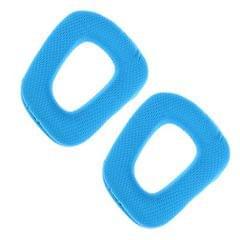 Durable Replacement Headphone Ear Pads Soft for Logitech G35 G930 G430 Blue