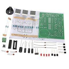 Digital Clock Kit 6 LED Electronic Smart Clock DIY Learning Kits AT89C2051