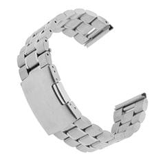 24Mm Wrist Watch Strap Band Stainless Steel Replace Series Bracelet Link Silver