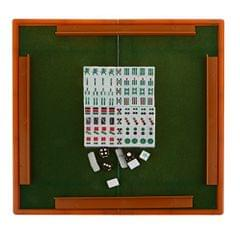 Mini Mahjong Game Chinese Traditional Game Gathering Party Game Blue ML-006