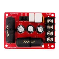 Bass Subwoofer Second-Order Crossover Frequency Divider DIY Home Theater Without Soldering