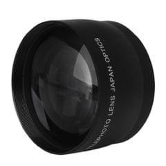 52mm 2X Telephoto Lens Teleconverter for Nikon AF-S DX Nikkor 18-55mm