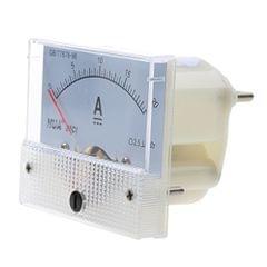 0-20A Analog Amp Meter Ammeter Current Panel Ammeter Gauge 20A