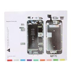 Magnetic Screws Pad Screw Keeper Chart Mat Repair Guide Tool Holder for iPhone 6s