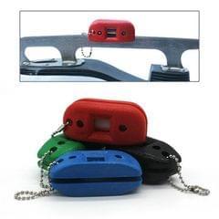 Portable Sander Knife Sharpener for Skate Shoes (Red)
