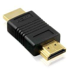 HDMI 19 Pin Male to HDMI 19Pin Male Gold Plated adapter, Support HD TV / Xbox 360 / PS3 etc