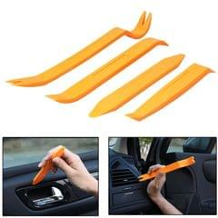 4 in 1 Car Audio System Dashboard Door Panel Removal Tools Kit (Orange)