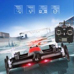 Syma X9S 4-Channel 360 Degree Flips 2.4GHz Radio Control Flying Car / Quadcopter with 6-axis Gyro & LED Light (Black)