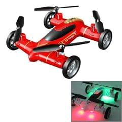Syma X9S 4-Channel 360 Degree Flips 2.4GHz Radio Control Flying Car / Quadcopter with 6-axis Gyro & LED Light (Red)