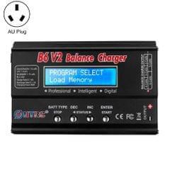 HTRC B6 V2 Balance Charger Intelligent Model Airplane Lithium Battery Charger, AU Plug
