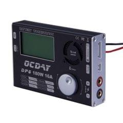 OCDAY 180W 16A DP6 Battery Balance Charger 1-6s for Quadcopter / Helicopter (Black)