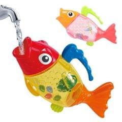 4 PCS Baby Shower Play Toys Cartoon Fish Spray Shower (Color Random Delivery)