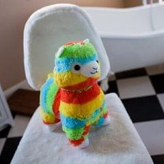 Soft Cotton Rainbow Alpaca Stuffed Toy Doll Rainbow Animals Toys, Size:50CM (Ordinary alpaca)
