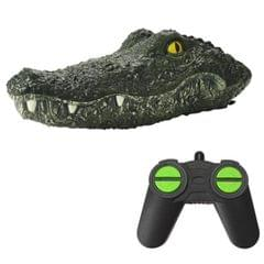 Simulation Crocodile Remote Control Boat Floating On Water Spoofing Cup Toy Summer Outdoor Swimming Pool Toy