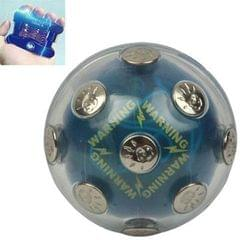 Fashion Metal Decoration Can Switch Electric Shock Power Ball