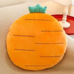 Fruit Cushion Office Student Toy Strawberry Pineapple Pillow Plush Toy (Coffee)