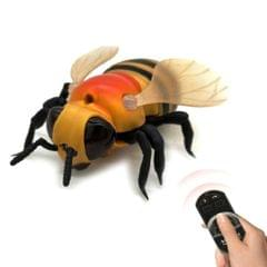 Infrared Sensor Remote Control Simulated Insect Tricky Creative Children Electric Toy Model (Bee)
