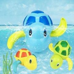 Cartoon Turtle Shape Clockwork Toy Babies Bathing Play Water Toy Children Educational Toy (Orange)