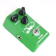 JOYO JF-10 Electric Guitar Pedal Dynamic Overdrive Distortion Tremolo Compressor Guitar Effect Pedal Speaker Simulator (Green)