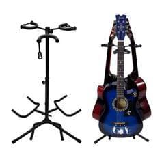 Tripod Three-head Height Adjustment Guitar Stand