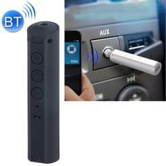 Portable Stereo Bluetooth Adapter Mini Portable Bluetooth 4.2 Wireless Bluetooth Music Receiver with 3.5mm Hands-free Stereo Audio Adapter for Car Home Use (Black)
