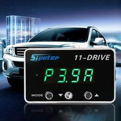 For Audi A4L 2009-2016 Sipeter 11-Drive Automotive Power Accelerator Module Car Electronic Throttle Accelerator with LED Display