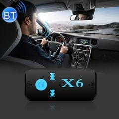 HQX6 Car Bluetooth V4.1 Audio Music Player Receiver Adapter, Support Wireless Hands-free & TF Card & USB Charge